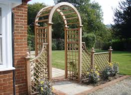 simple design of arched trellis my journey