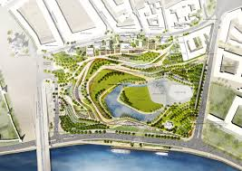 Site Plan Design by 2nd Place Zaryadye Park Competition Entry By Team Tpo Reserve
