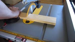 dewalt jobsite table saw accessories how not to do table saw cross cut youtube