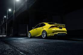 lexus is350 f sport car sales official 2014 lexus is350 f sport by vossen wheels gtspirit