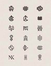 create monogram initials beautiful logos by joe white abduzeedo design inspiration