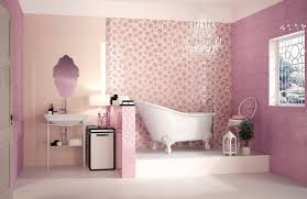 Bathroom Wall Paint Colors Bathroom Decorating Ideas Red Gloss Color Wall Layers Red