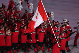 29 Star Flag Virtue And Moir Carry Canadian Flag As Olympics Open With Dazzling