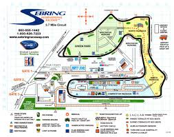 Sebring Florida Map by Sebring Programme Covers Racing Sports Cars