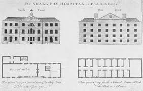 19th Century Floor Plans by File Smallpox Hospital Coldbath Fields Elevations And First