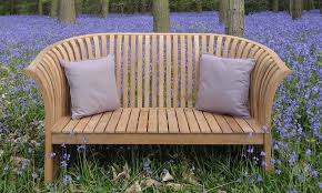 curved wooden garden seats curved garden bench with back