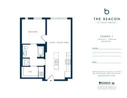 New Orleans Floor Plans Beacon At South Market New Orleans La Apartment Finder