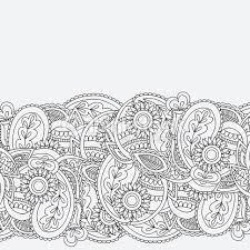mehndi card henna mehndi card template mehndi invitation design vector