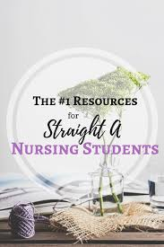 top resources for the straight a nursing student
