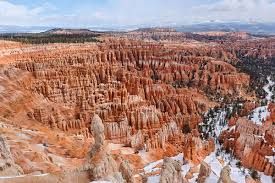 Map Of Utah State Parks by Bryce Canyon National Park Wikipedia