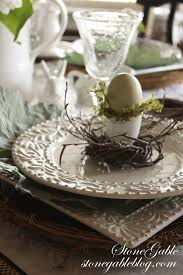 Pretty Tables by An Easy Easter Table Using A Formula Stonegable