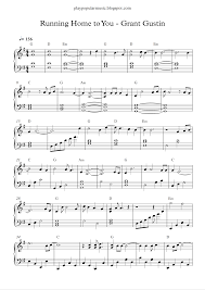 free piano sheet music grant gustin running home you pdf can