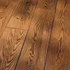 Traditional Laminate Flooring Homerwood White Oak Smoked Cinnamon Wire Brushed 4