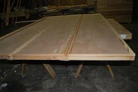 Overhead Door Panels Wood Composite Technology Insulated Overhead Door Garage