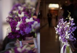 Wedding Flowers Church Purple Flowers Church Wedding Decorationswedwebtalks Wedwebtalks