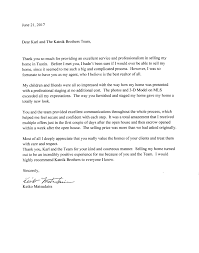thanksgiving letter to clients client feedback letters katnik brothers real estate