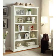 home decorators collection amelia white open bookcase sk18488a