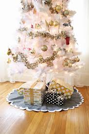 3 easy no sew tree skirts u2013 a beautiful mess