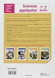sciences appliqu馥s cap cuisine technologie culinaire cap cuisine 1e et 2e 馥s 28 images