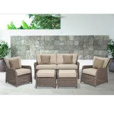 Patio Chair And Ottoman Set Chair U0026 Ottoman Sets Patio Furniture Outdoor Seating U0026 Dining