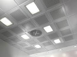 controsoffitto alluminio controsoffitto in alluminio in acciaio a quadrotte 24 linear