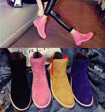 womens flat ankle boots size 9 aliexpress com buy 2017 brand autumn winter leather ankle