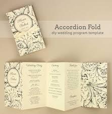 Booklet Wedding Programs 27 Free Wedding Program Templates You U0027ll Love