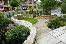 brilliant front garden design ideas interesting shrub intended