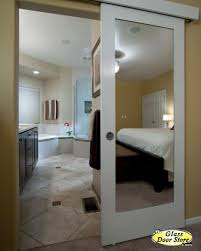 Interior Bathroom Door Barn Doors Barn Door Track The Glass Door Store