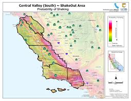 California Zip Code Map by California Earthquake Map California Map
