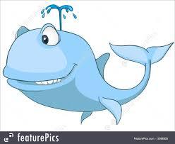 wildlife cartoon character whale stock illustration i3088805 at