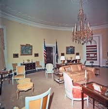 Kennedy Oval Office by Kn C29720 Yellow Oval Room White House John F Kennedy