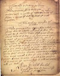 manuscript cookbooks survey the recipes project