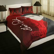 Red King Comforter Sets Elvis Presley Home Bedding 3 Piece Set Dancing Elvis Walmart Com