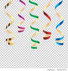 party streamers background with party streamers stock illustration 13047374