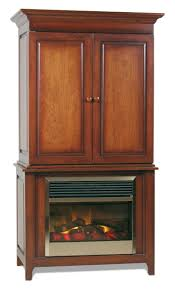 Amish Bookshelves by Amish Shaker Electric Fireplace