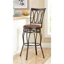 swivel bar stool adjustable height bronze counter chair seat