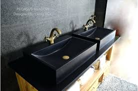 cool bathroom sink faucet black granite stone bathroom sink faucet