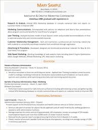 Resume Samples For Marketing by Executive Resume Samples Executive Resume Writing Service