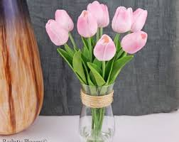 tulip arrangements tulips realistic blooms floral arrangements silk real
