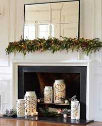 professional tips for decorating your holiday mantel pottery barn