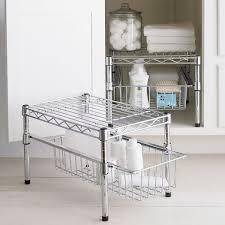Bathroom Shelf Organizer by Cool Bathroom Storage Ideas