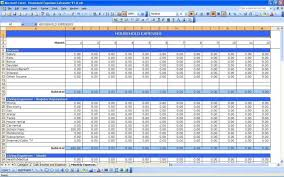 Monthly Budget Sheet Template Monthly Expense Spreadsheet Template Haisume