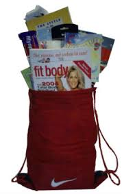 fitness gift basket fitness fanatic custom baskets gift baskets by yesh