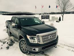 nissan truck titan on the road review nissan titan xd turbodiesel pickup truck the