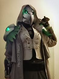 Reaper Halloween Costume 3d Printed Halloween Costume Plague Doctor Reaper