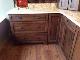 Kitchens With Hickory Cabinets Dark Hickory Shaker Style Cabinets For Bathroom Kitchen