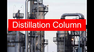 distillation column process with animation piping official youtube