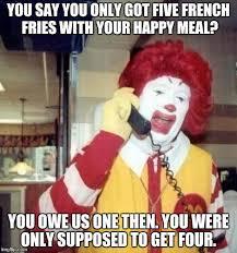 Ronald Mcdonald Phone Meme - ronald mcdonald on the phone meme generator imgflip