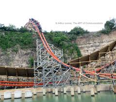 Texas Six Flags Best Hybrid Wooden And Steel Coasters